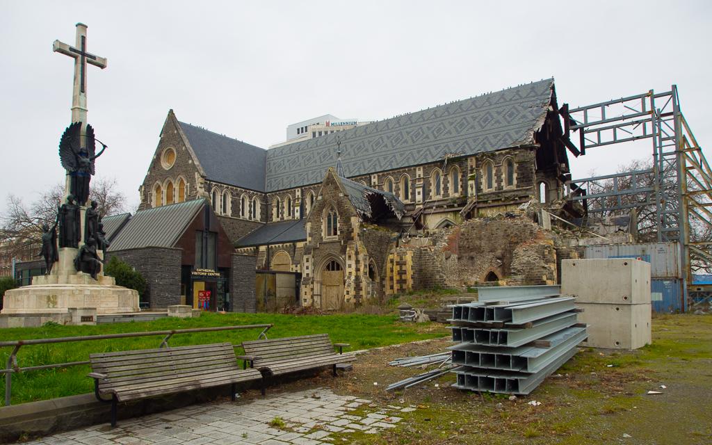 Christchurch – Vom Erdbeben geprägt