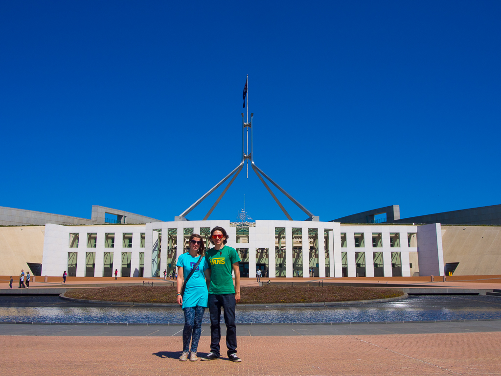 Canberra – Wenn zwei sich streiten, freut sich der Dritte